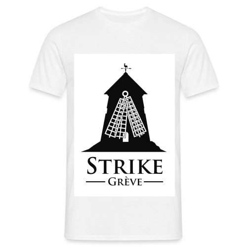 Strike, grève - T-shirt Homme