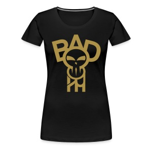 BadheaD Women gold glitter - Frauen Premium T-Shirt
