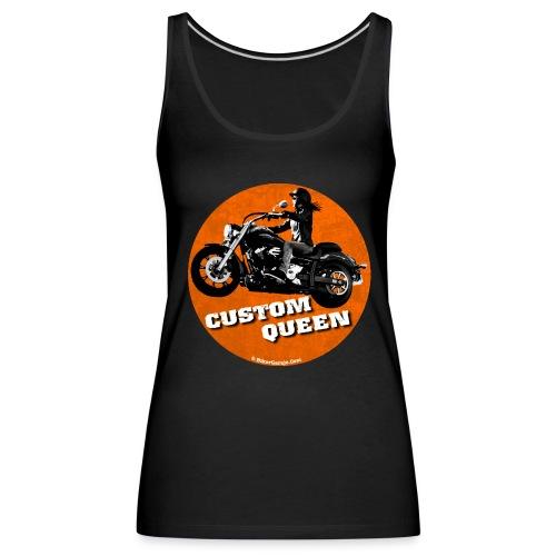 Top Custom Queen - Camiseta de tirantes premium mujer