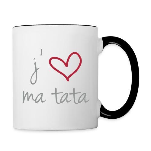 cadeau - Mug contrasté
