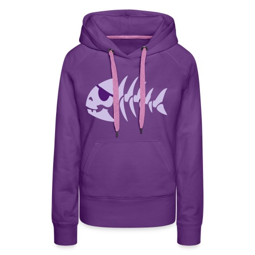 jollyfish - Sweat-shirt à capuche Premium pour femmes