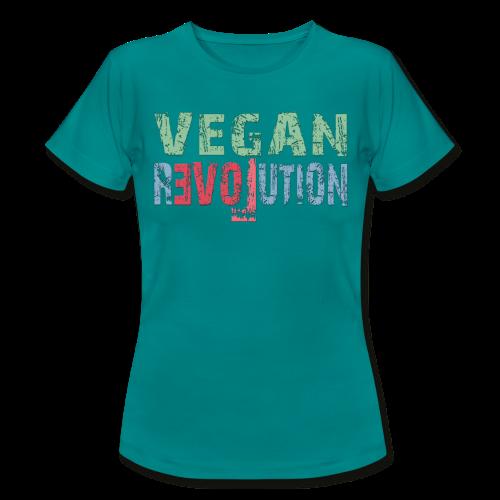 VEGAN REVOLUTION - Frauen T-Shirt
