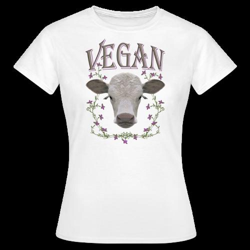 Vegan Kälbchen - Frauen T-Shirt