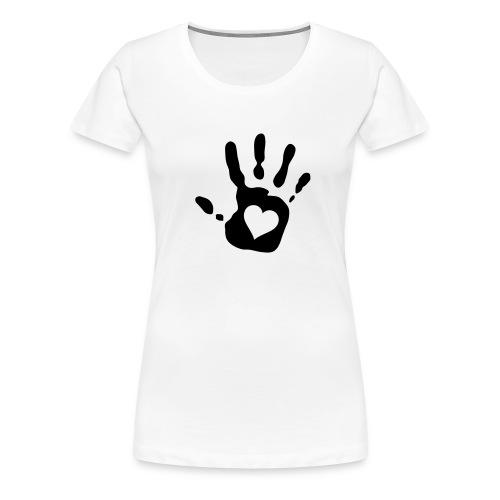mano nera - Maglietta Premium da donna