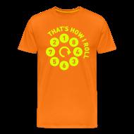 T-skjorter ~ Premium T-skjorte for menn ~ Rolling the V8 way