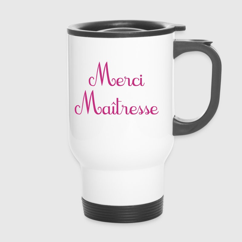 mug thermos merci ma tresse cadeau de fin d 39 ann e cole. Black Bedroom Furniture Sets. Home Design Ideas