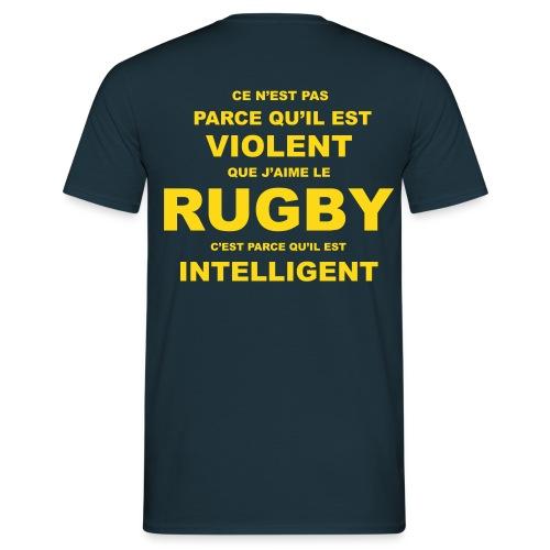 RUGBY VIOLENT - T-shirt Homme