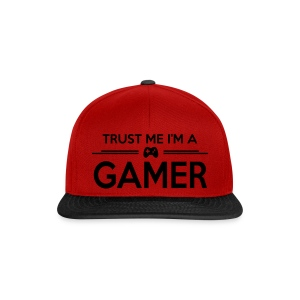 TRUST ME I'M A GAMER - Snapback Cap