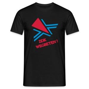 ZDK WEGBETEN! Shirt - Männer T-Shirt