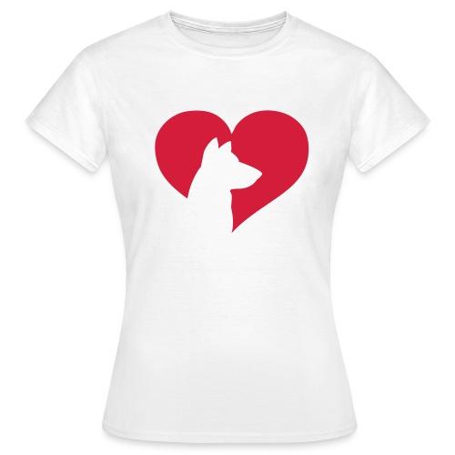 Camiseta Mujer Love Doggy - Camiseta mujer