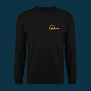 Dub Rock international (multi-colored on black) - Men's Sweatshirt