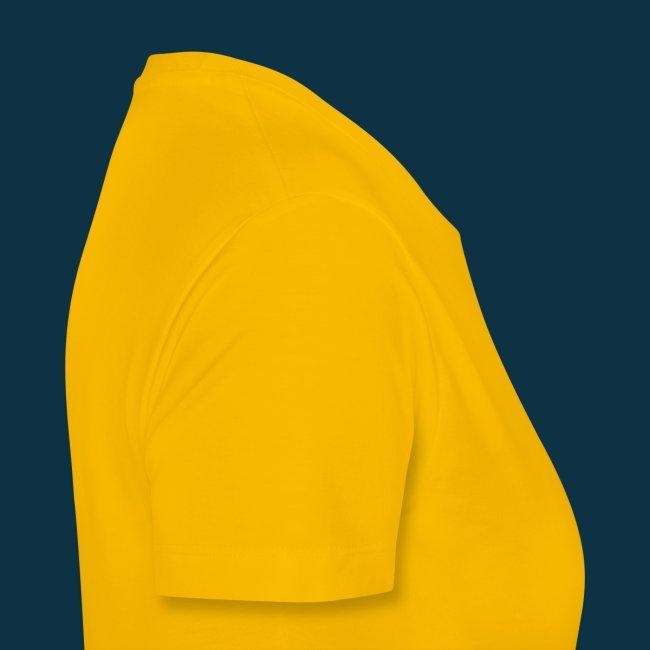 Extra Heavy Dub (female, black on yellow)
