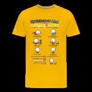 T-Shirts ~ Männer Premium T-Shirt ~ Artikelnummer 102316176