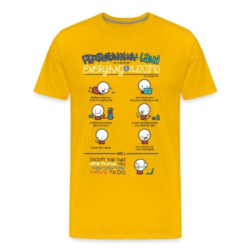 Prokrastination - Männer Premium T-Shirt
