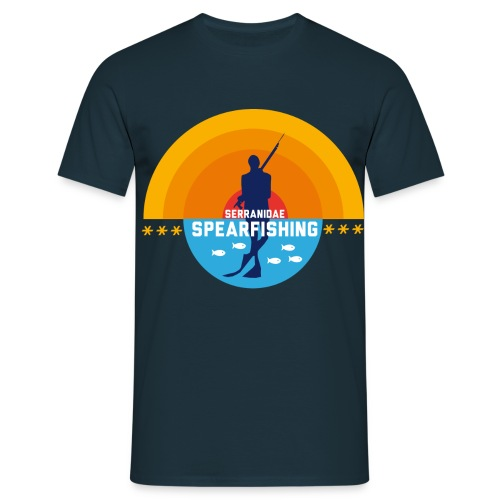 T-shirt Homme - spearfishing fun cool chasse sous marine