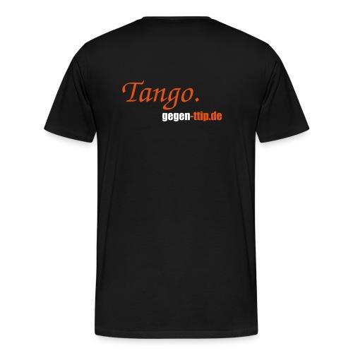 Tanguero - Männer Premium T-Shirt