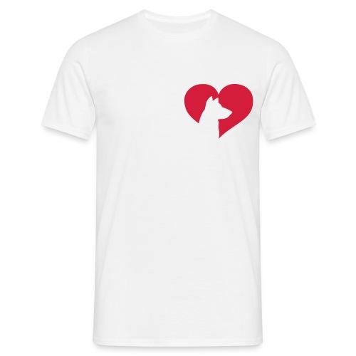 Camiseta Doggy Love - Camiseta hombre