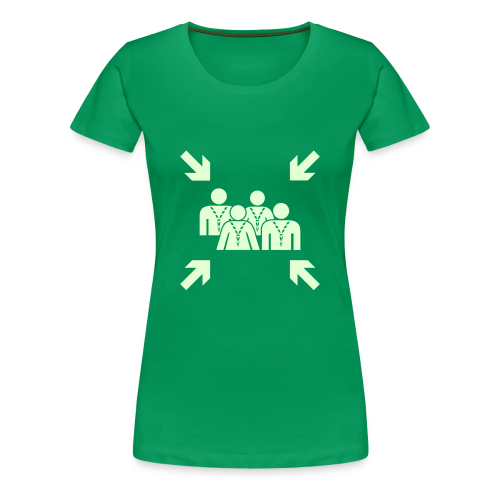 Assembly Point - glowing - Women's Premium T-Shirt