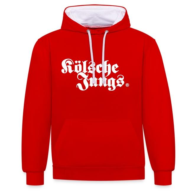 """Kölsche Jungs """"Hoodie"""" classic rot"""