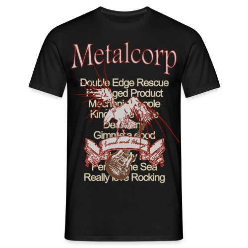 Métalcorp Official - T-shirt Homme