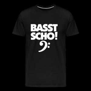 Basst Scho S-5XL Bass T-Shirt - Männer Premium T-Shirt