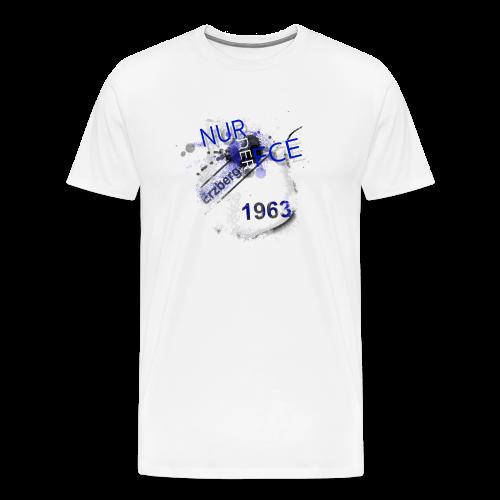 NURDERFCE - white edition MEN - Männer Premium T-Shirt