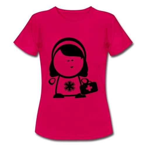Retter-Sanigirl-Nerd - Frauen T-Shirt
