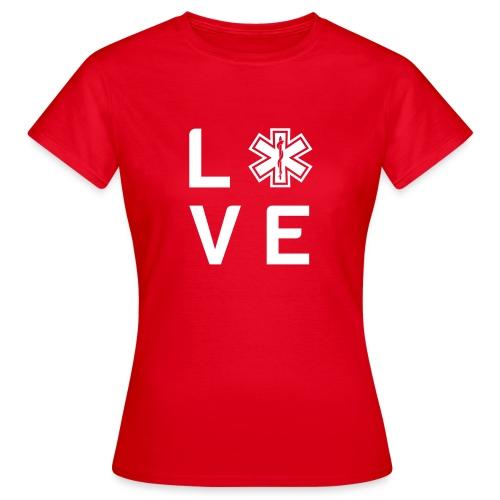 Retter-Liebe - T-Shirt - Frauen T-Shirt
