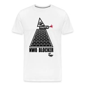 TAGY NWO BLOCKER - Männer Premium T-Shirt