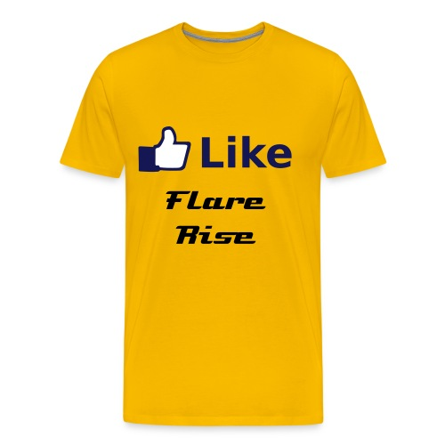 fb like t-shirt - Men's Premium T-Shirt