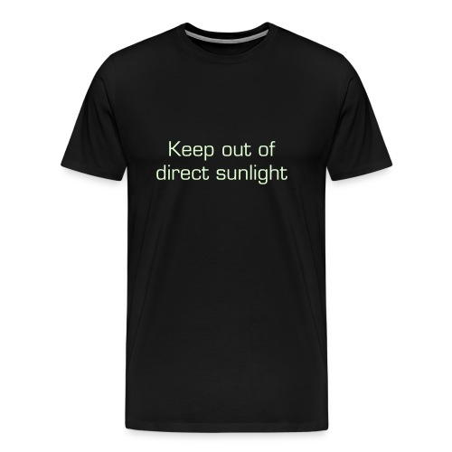Keep Out (Glow in the Dark) - Men's Premium T-Shirt