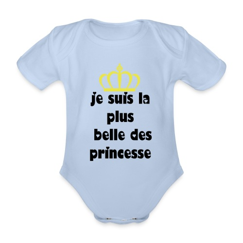 my little princess - Body bébé bio manches courtes