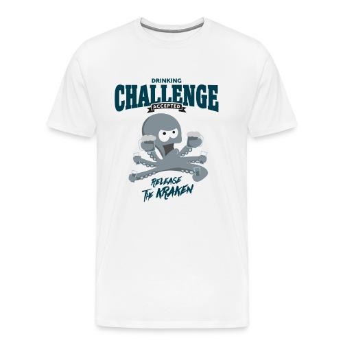 drinking challenge accepted - release the kraken - Männer Premium T-Shirt