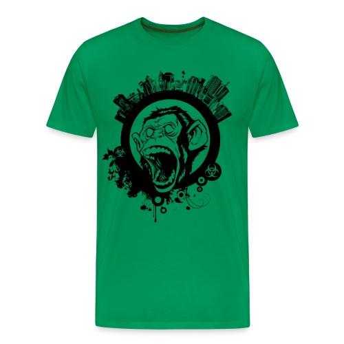Affen City - Männer Premium T-Shirt