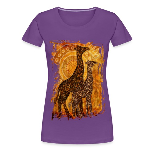 Afrikanischer Sommer - Frauen Premium T-Shirt