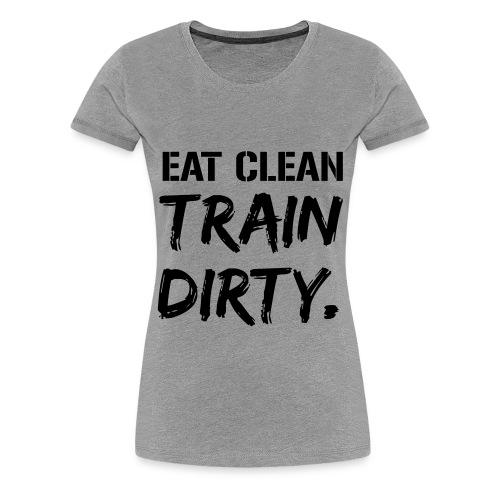 HIIT Women's T-Shirt (Gray) - Frauen Premium T-Shirt