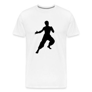 Bruce Lee T-Shirt (Men's) - Men's Premium T-Shirt