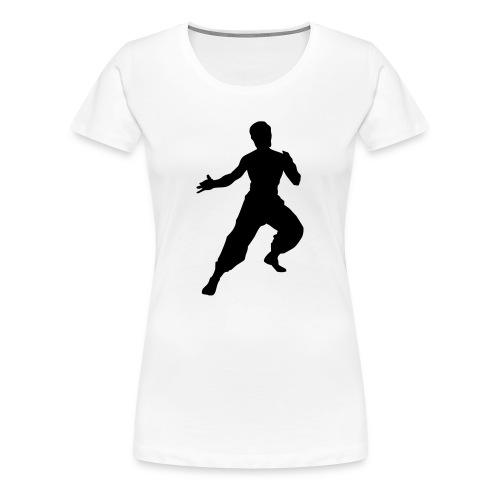 Bruce Lee T-Shirt (Women's) - Women's Premium T-Shirt