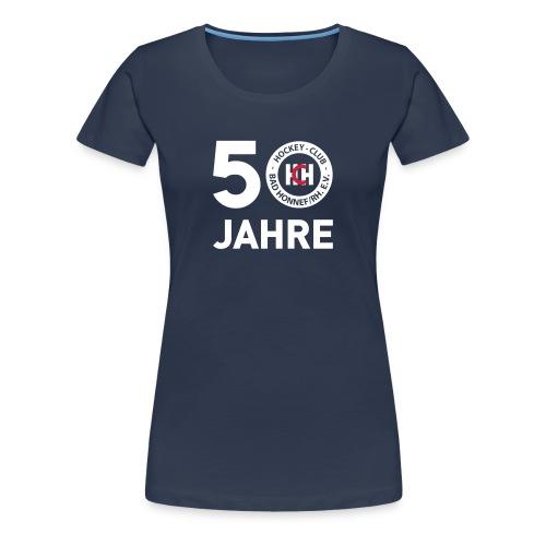 50 Jahre HCH Damen Shirt - Frauen Premium T-Shirt