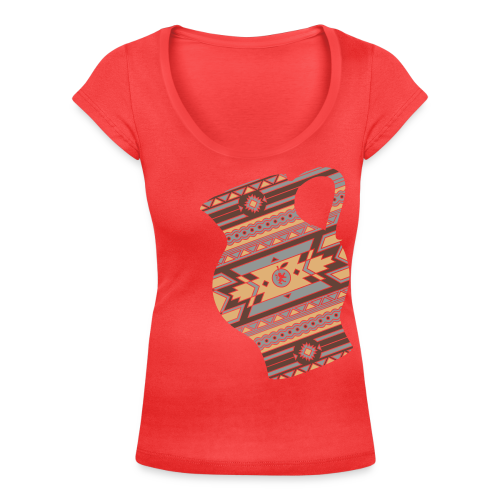 Hessen Natives Damen - Frauen T-Shirt mit U-Ausschnitt