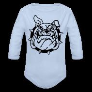 Bodys Bébés ~ Body manches longues Bébé ~ Le sourire du Bulldog
