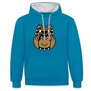 Brutus, le Bulldog - Sweat-shirt contraste