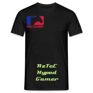 AzTeC Hyped Gamer Male T-Shirt - Men's T-Shirt