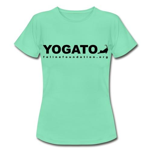 YO-CAT Ladies Yoga Tee - Women's T-Shirt