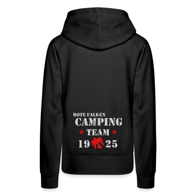 "Kapuzenpullover ""Camping Team"" (female)"