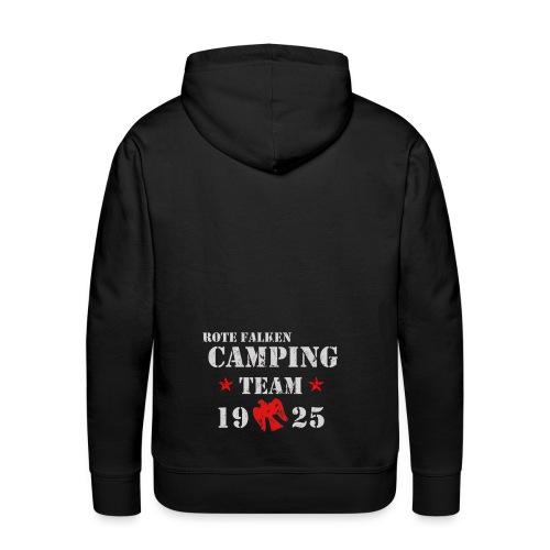 Kapuzenpullover Camping Team (male) - Männer Premium Hoodie
