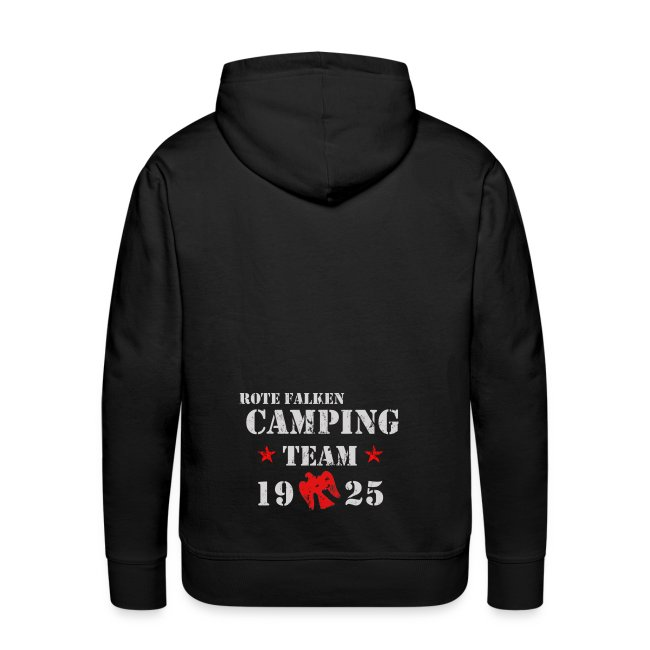 "Kapuzenpullover ""Camping Team"" (male)"