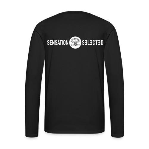 Männer Sweatshirt schwarz - Männer Premium Langarmshirt