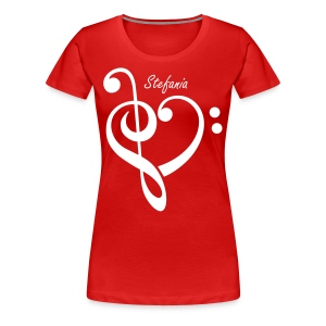 Heart Key - Women's Premium T-Shirt