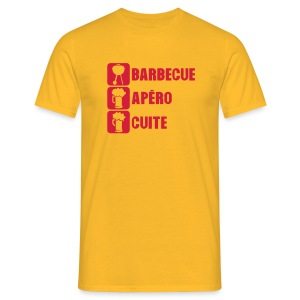 Barbecue apero cuite - T-shirt Homme
